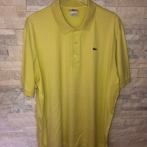 Lacoste Men's Polo - Size 8, XXL